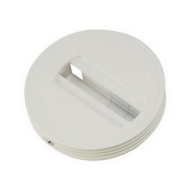Systémové svítidlo adapter základna pro jednookr. lištu stříbrnošedá  SLV LA 143382