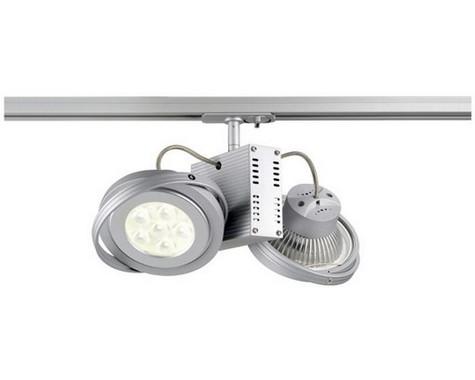 Systémové svítidlo TEC jednookr. adapter stříbrná 230V/12V G53 LA 143522