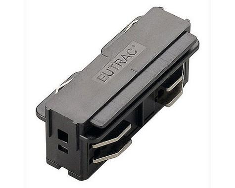 Systémové svítidlo EUTRAC podélný spoj černá 230V LA 145560