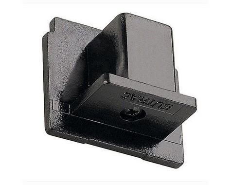 Systémové svítidlo EUTRAC koncovka pro tříokr. lištu černá LA 145590