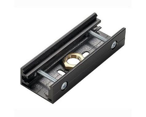 Systémové svítidlo EUTRAC spojka pro tříokr. lištu černá LA 145600