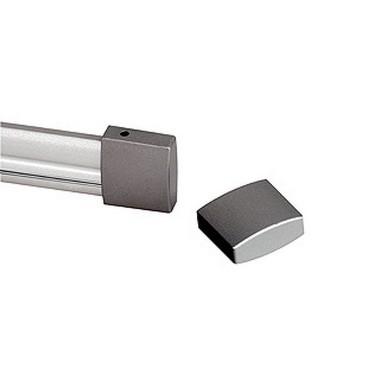 Systémové svítidlo EASYTEC koncové krytky 2 ks stříbrnošedá LA 184142
