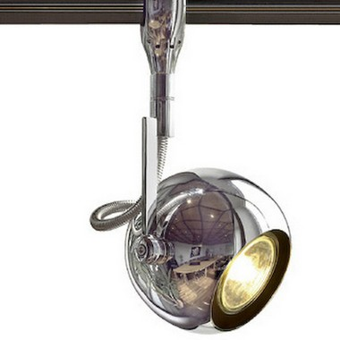 Systémové svítidlo LIGHT EYE spot pro EASYTEC II chrom 230V GU10 SLV LA 185692