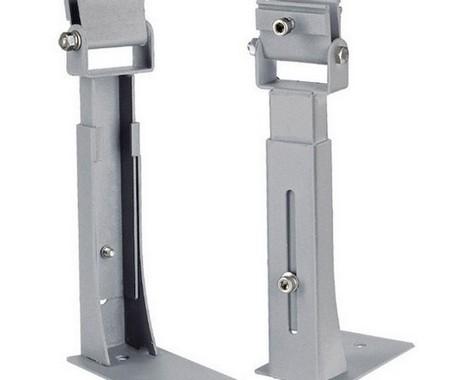 DRŽÁK PRO VANO TC A VANO DISPSLV LAY stříbrošedý, nastavitelný, krátký, 2 ks SLV LA 229403