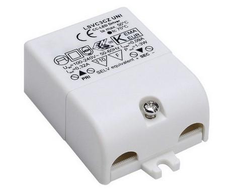 Doplněk LED napájení vč. přepěť. ochr. 230V/350mA LED 3W LA 464108