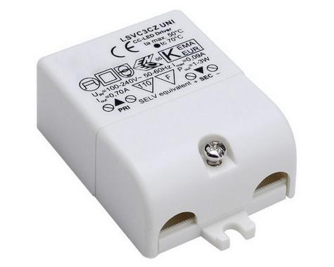 Doplněk LED ovladač vč. přepěť. ochr. 230V/700mA LED 3W SLV LA 464200