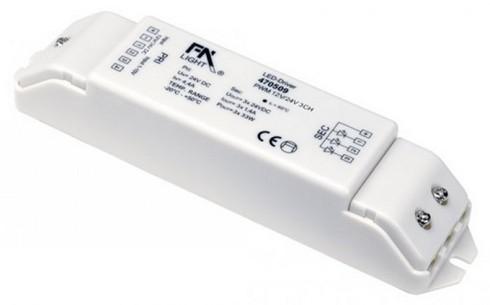 Doplněk PWM ovladač 3 kanálový 1-10V SLV LA 470509
