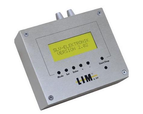 Doplněk LIM 2 ovladač LCD vč. mont. krytu přírodní hliník 230V LA 470531