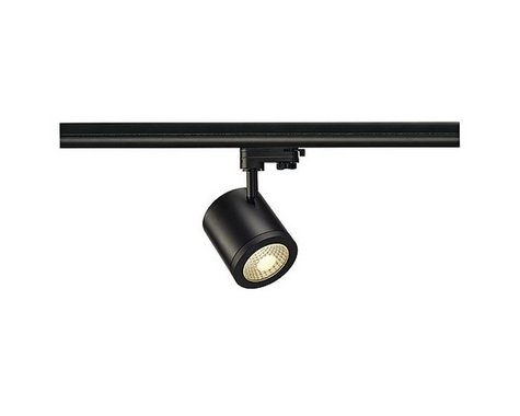 ENOLA C9 pro tříokr. lištu černá 230V COB LED 9W 35° 3000K  LED LA 152420