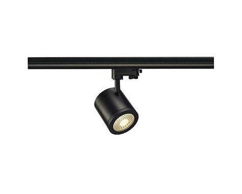 ENOSLV LA C9 pro tříokr. lištu černá 230V COB LED 9W 55° 3000K  LED SLV LA 152430