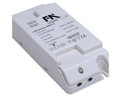 LED ovladač 1-3 LED vč. mini zástrčky 230V/350mA LED 3W LA 464107-4