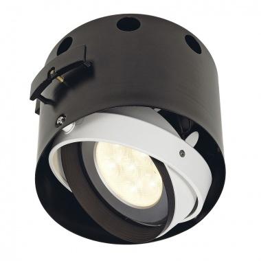 Zápustné svítidlo AIXLIGHT PRO FSLV LAT FRAMELESS I kruhová kryt černá SLV LA 115624-3