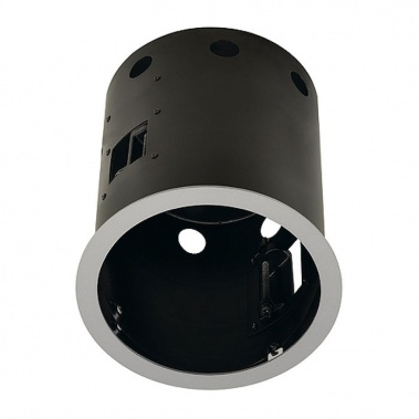 Zápustné svítidlo AIXLIGHT PRO FRAME I kruhová kryt stříbrnošedá SLV LA 115644-3