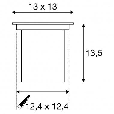 Pojezdové svítidlo SLV LA 229374-5