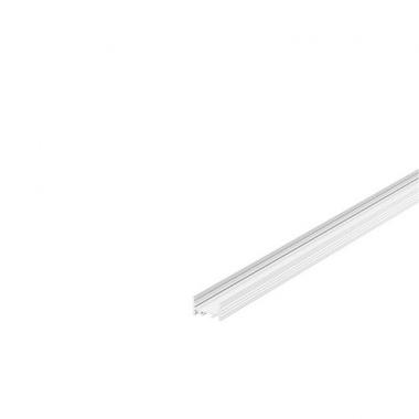 GRAZIA 20 profil na stěnu LED plochý drážkovaný 2m bílý - BIG WHITE SLV-1