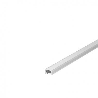 Kryt na GRAZIA 20 plast ploché provedení 1m satinovaný - BIG WHITE SLV-2