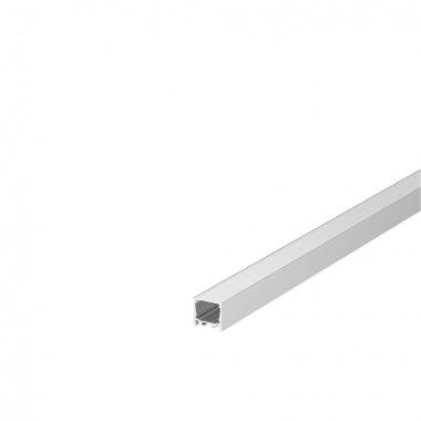 Kryt na GRAZIA 20 plast ploché provedení 1m satinovaný - BIG WHITE SLV-4