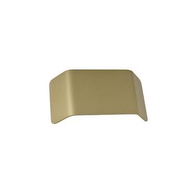 MANA stínidlo hliník mosaz kartáčovaná 27x13,5x6,5 cm - BIG WHITE SLV-4