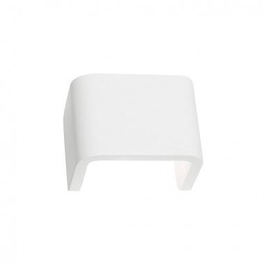 MANA stínidlo š/v/h 13,5/10/9,9 cm sádra bílé - BIG WHITE SLV-1