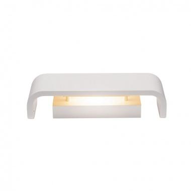 MANA stínidlo š/v/h 30,9/9,5/7,4 cm sádra bílé - BIG WHITE SLV-4