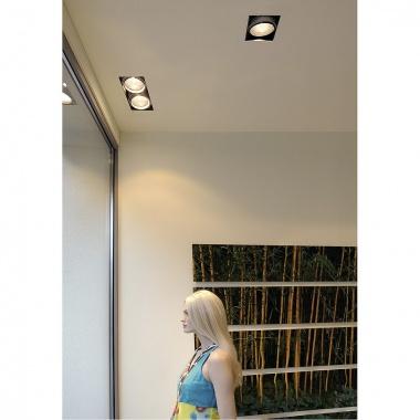 Zápustné svítidlo AIXLIGHT PRO I frameless kryt vč. mont. sady s SLV LA 115151-2
