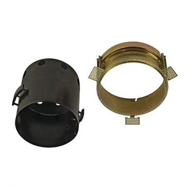 Zápustné svítidlo AIXLIGHT PRO FRAME I kruhová kryt stříbrnošedá SLV LA 115644-1