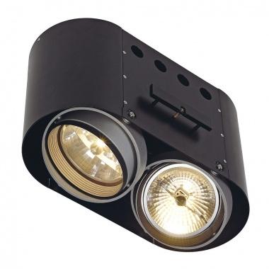 Zápustné svítidlo AIXLIGHT PRO PRO FRAMELESS II kruhová kryt černá SLV LA 115684-2