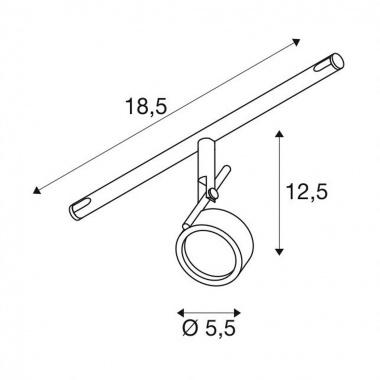 Lankové systémy SLV LA 139130-3