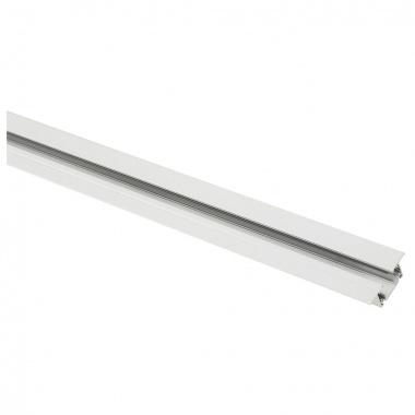 Systémové svítidlo JEDNOOKRUHOVÁ zápustná lišta 2m bílá 230V SLV LA 143221-1