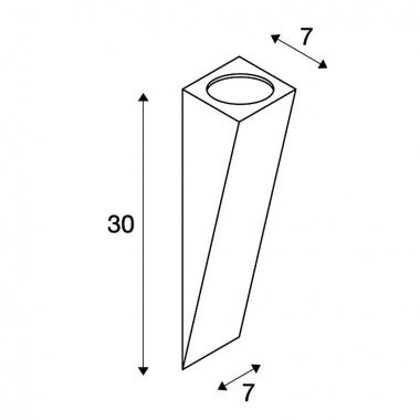 Nástěnné svítidlo SLV LA 151561-4