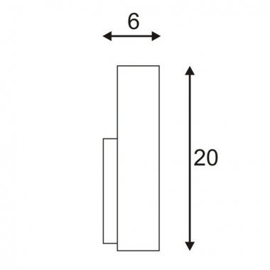 Nástěnné svítidlo SLV LA 151601-2