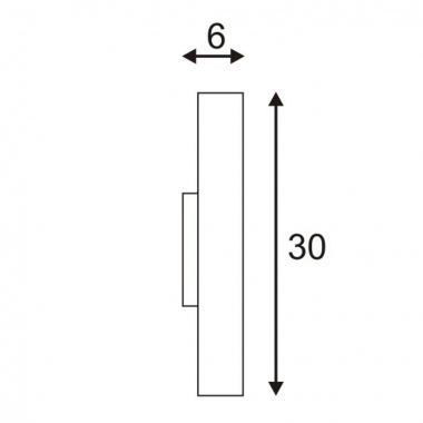 Nástěnné svítidlo SLV LA 151611-2