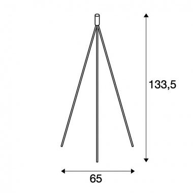 Stojací lampa SLV LA 155492-4