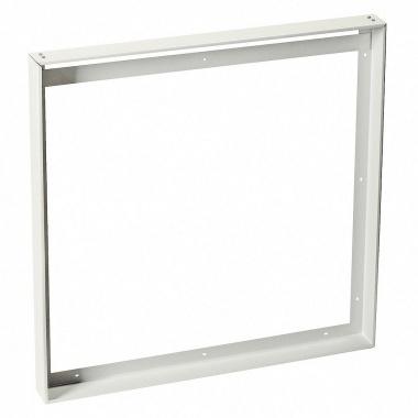 Univerzální nástavbový rámeček pro čtvercové panely LED 595x595 mm, bílý matný LED  SLV LA 158762-1