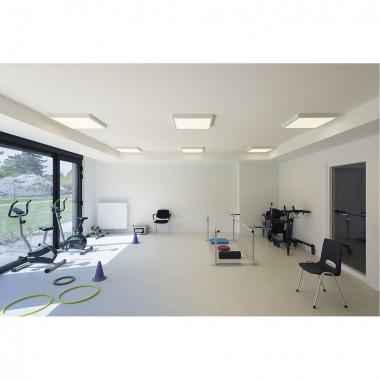 Univerzální nástavbový rámeček pro čtvercové panely LED 595x595 mm, bílý matný LED  SLV LA 158762-4