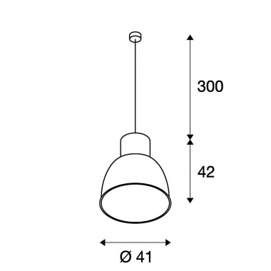 Lustr/závěsné svítidlo  LED SLV LA 165221-2