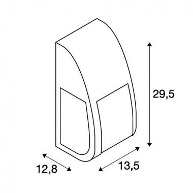 Venkovní svítidlo nástěnné SLV LA 227176-3