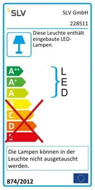 Venkovní svítidlo nástěnné  LED SLV LA 228511-4