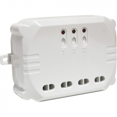 3-channel radio receiver module, max. 3000W SLV LA 470803-1