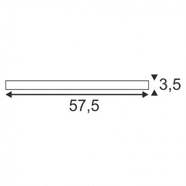 Stropní svítidlo LED  SLV LA 631323-2