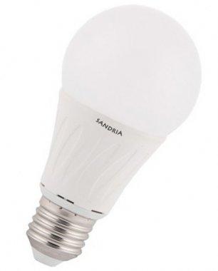 LED žárovka Sandria E27, 10W SMD 4000K