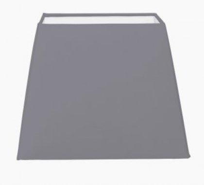 Textilní stínidlo Vintage - šedá 49421