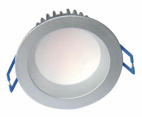 Vestavné bodové svítidlo 230V FU LD6035 stříbrná 3000K