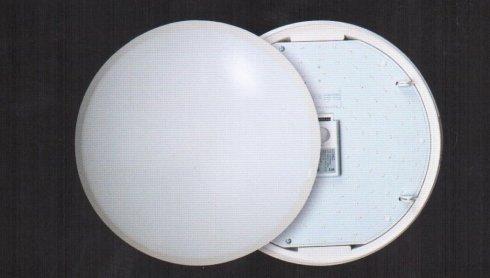Svítidlo na stěnu i strop FU NOVODISC CDLE01MS s čidlem