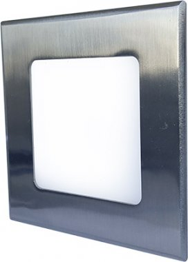Vestavné bodové svítidlo 230V GR GXDW103 LED30 VEGA-S Matt chrome 6W NW VEGA-S