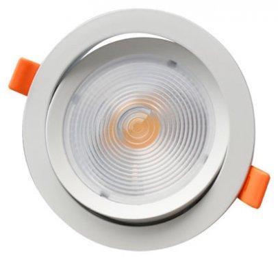 Vestavné bodové svítidlo 230V GR GXDW301 LED CASTOR-R 12W WW CASTOR-R