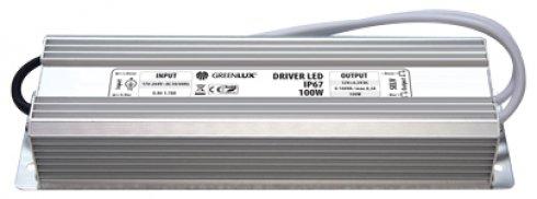 Příslušenství k LED GR GXLD009 DRIVER LED IP67 100W