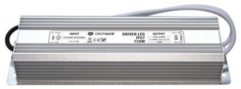 Příslušenství k LED GR GXLD010 DRIVER LED IP67 150W