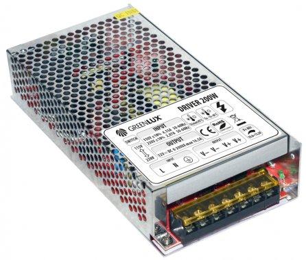 Příslušenství k LED GR GXLD015 DRIVER LED IP20 200W