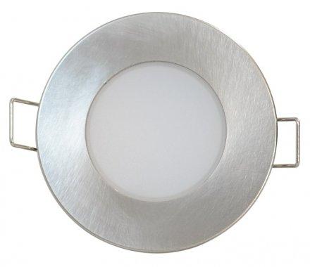 Vestavné bodové svítidlo 230V GR GXLL024 LED BONO-R Matt chrome  5W WW BONO-R